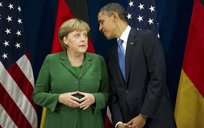 Обама и Меркель обсудят Трансатлантическое соглашение