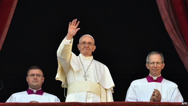 Папа Римский объявил общеевропейскую гуманитарную инициативу в помощь Украине