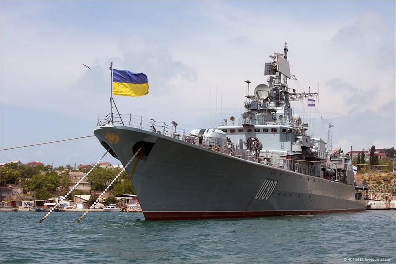 "Флагман ВМСУ ""Сагайдачный"" зашел на ремонт на ""Нибулон"""