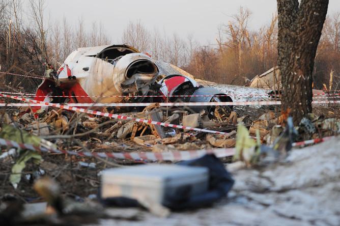 Польша возобновит расследование Смоленской катастрофы
