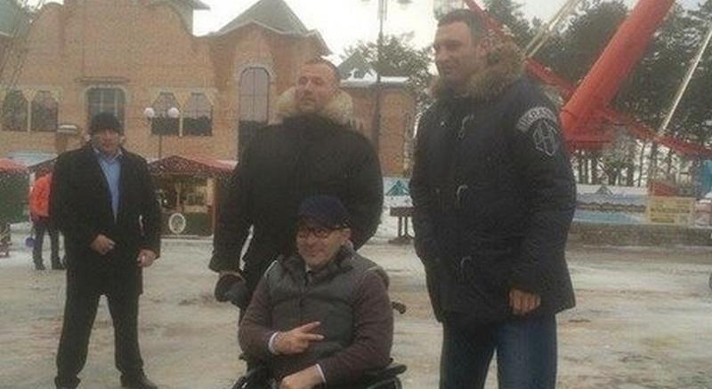 Кличко прогулялся по Харькову вместе с Кернесом