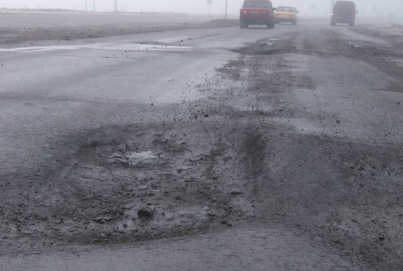 Патрульная полиция Николаева сообщает о разбитом участке дороги, который может стать причиной серьезных аварий