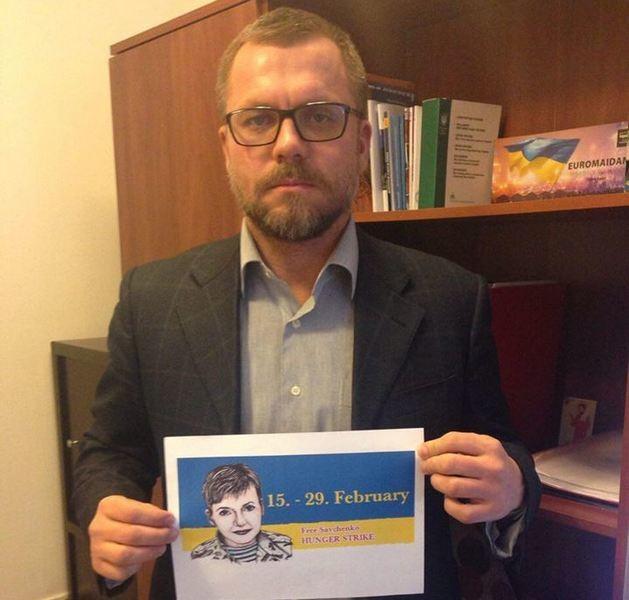 Народный депутат Украины Андрей Вадатурский объявил голодовку