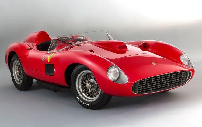 Ferrari 335 1957 года продан на аукционе за рекордные 32 млн. евро