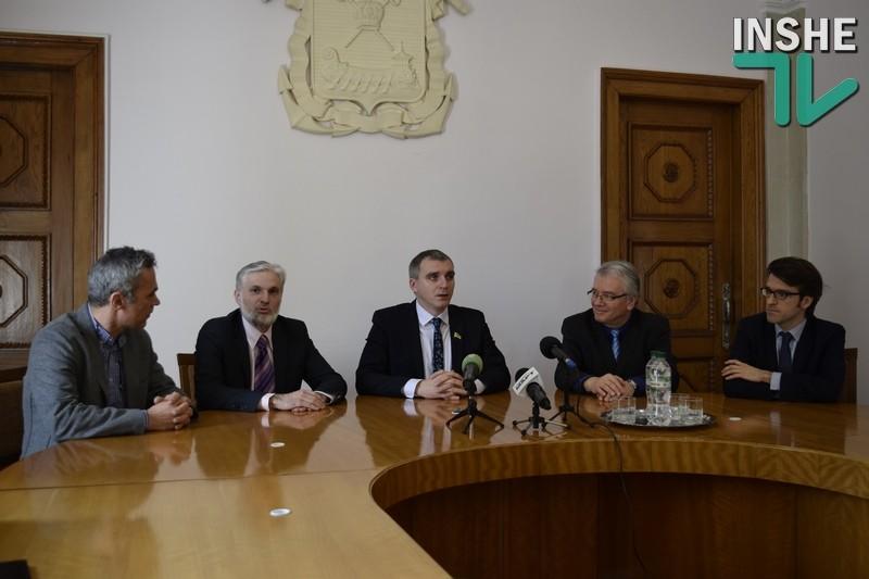 В Николаев прибыла миссия ЕИБ для разработки «дорожной карты» по реализации проекта реконструкции системы водоснабжения и водоотведения города