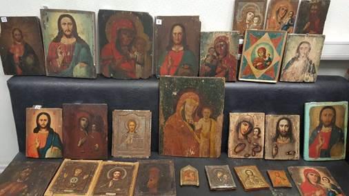В Харьковской области СБУ разоблачила контрабанду старинных икон