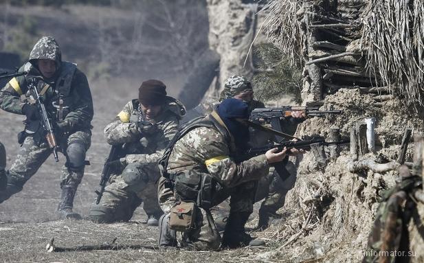 Под Авдеевкой силы АТО отразили атаку банды российских диверсантов