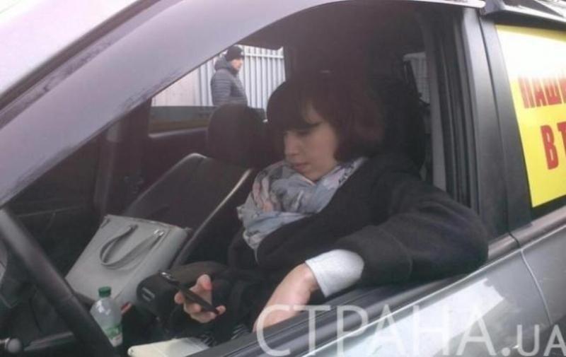 Нардеп Татьяна Черновол пыталась угнать автомобиль активистов, критикующих Пашинского