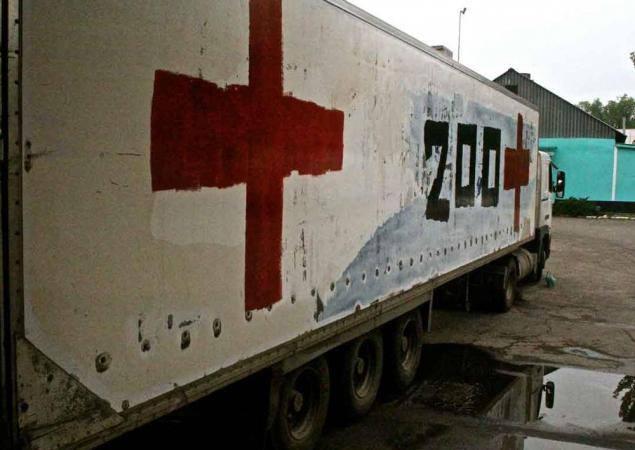 ОБСЕ: с Донбасса в РФ въехал фургон с надписью «Груз-200»