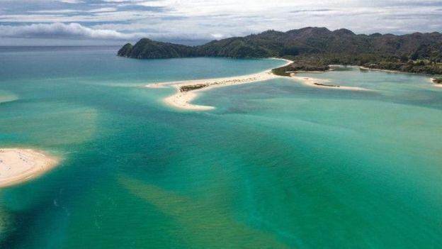 Землетрясение в Новой Зеландии оголило океаническое дно