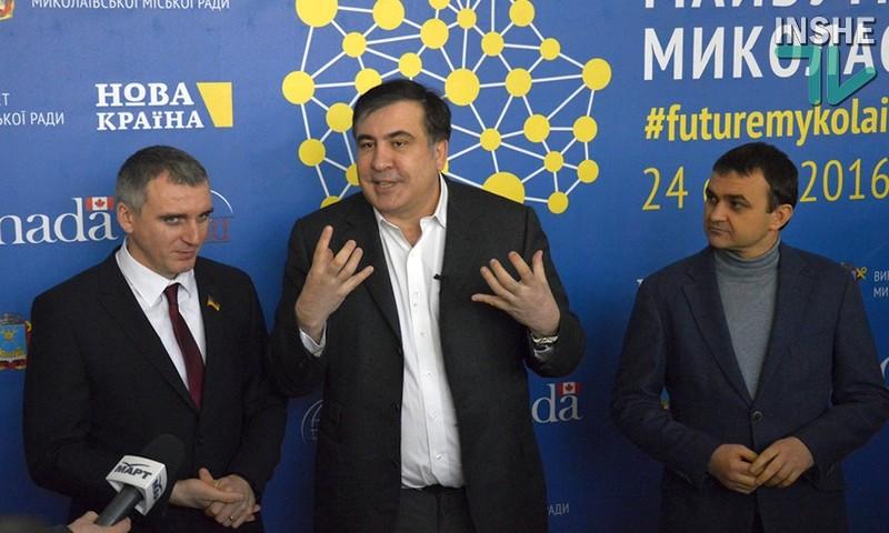 Саакашвили отказался признать итоги президентских выборов в Грузии, призвал народ к неповиновению