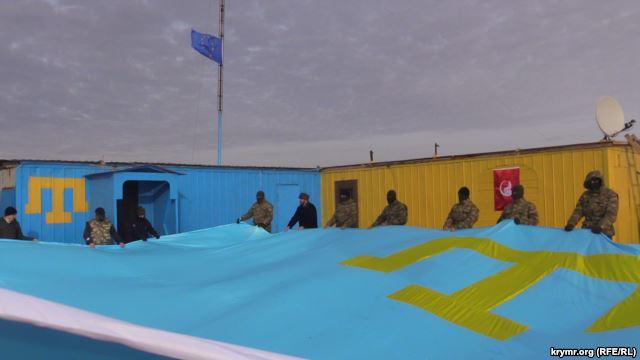 У крымских татар отобрали здание Меджлиса в Симферополе