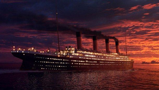 Крушение «Титаника» воссоздали в реальном времени