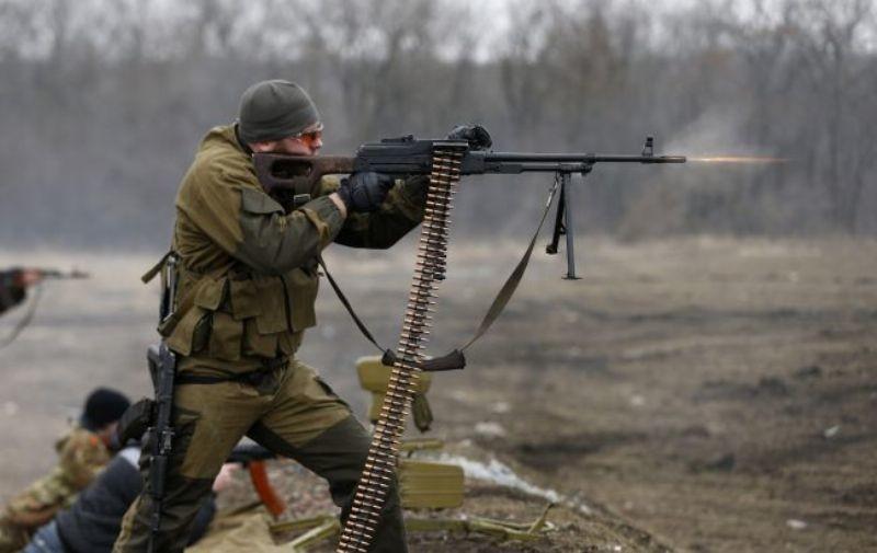 За прошедшие сутки на Донбассе на Светлодарской дуге ранен один боец ВСУ, погибших нет