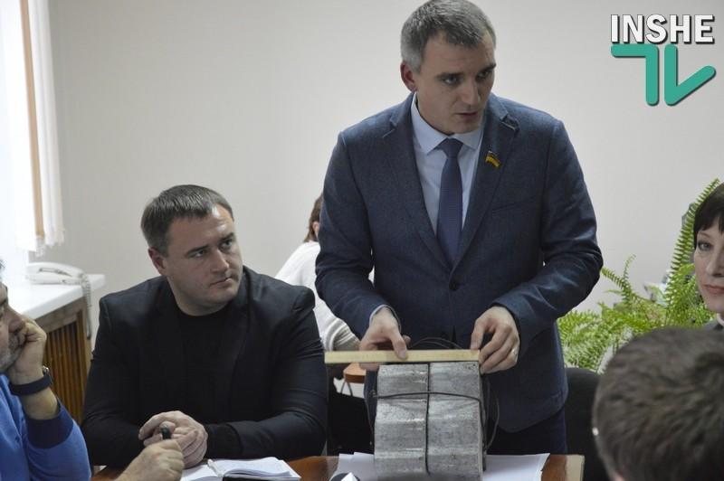 Сенкевич предлагает эксперимент по ремонту николаевских дорог: вместо асфальта использовать армированную бетонную плитку
