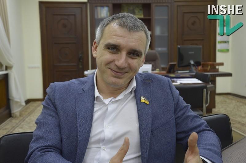 «Почему-то был уверен, что депутаты будут руководствоваться интересами города хотя бы в течение первого года» – мэр Николаева Александр Сенкевич