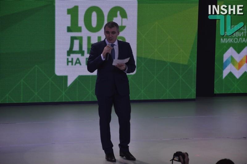Сенкевич рассказал николаевцам, что ему удалось сделать за первые 100 дней в должности мэра