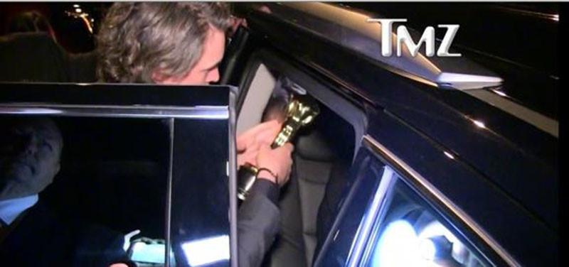 "Ди Каприо забыл ""Оскар"" в ресторане"