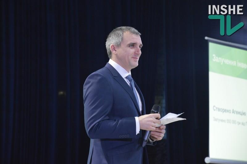 Сенкевич рассказал николаевцам о приоритетных направлениях своей работы в этом году