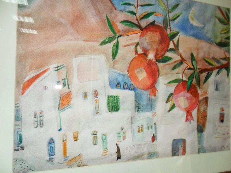В Николаеве экспонируются репродукции работ израильского художника Нахума Гутмана (фото) - фото 1