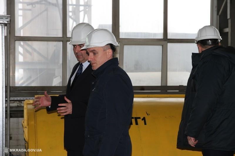 Мэр Александр Сенкевич побывал на «ЕВГРОЙЛе» – обсуждали развитие энергоэффективных технологий