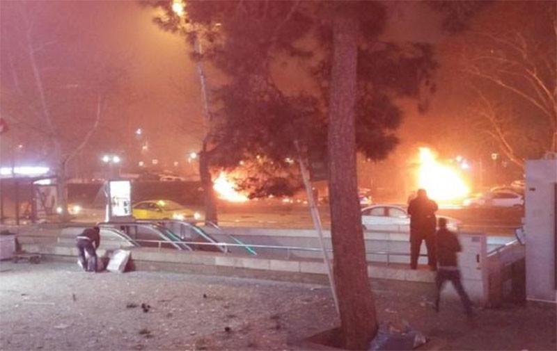 В Анкаре прогремел мощный взрыв, есть жертвы