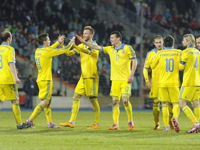 Сборная Украины потеряла три позиции в рейтинге ФИФА