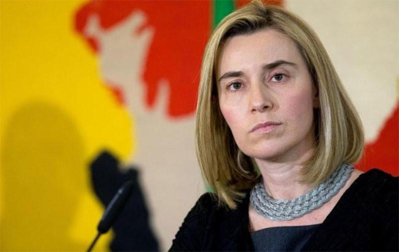 Могерини о ситуации в Азовском море: ЕС будет стоять на стороне Украины