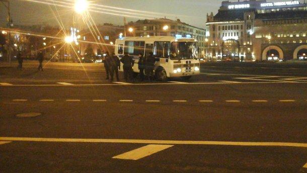 В Москве арестовали участников акции в поддержку Савченко