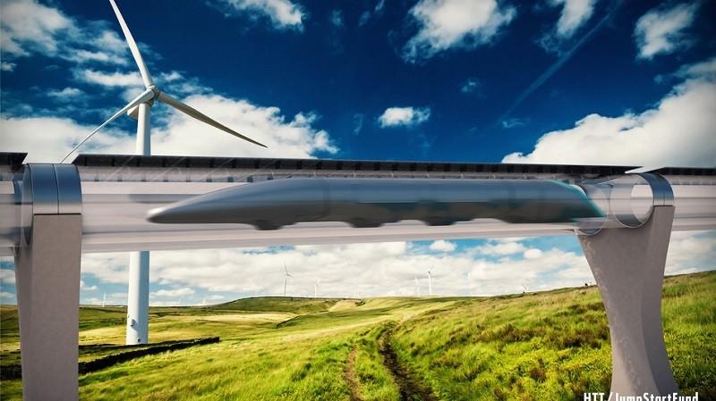 Китай показал поезд на магнитной подушке со скоростью 600 км/ч (ФОТО)
