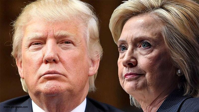 В рамках статистической погрешности: по рейтингу Клинтон от Трампа отделяет только 3% (ИНФОГРАФИКА)
