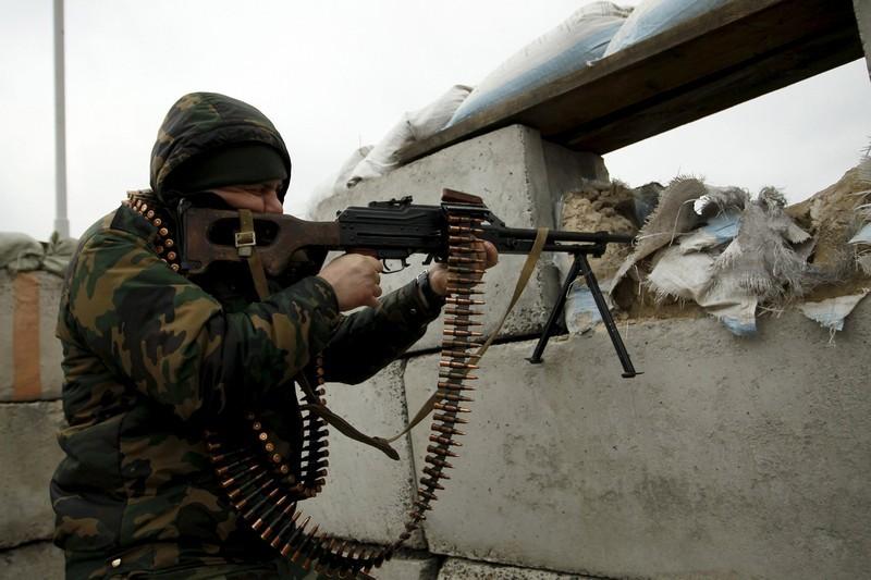 В зоне АТО боевики за сутки более 60 раз обстреляли позиции ВСУ, сконцентрировавшись на районах Авдеевки, Марьинки, Красногоровки и Тарамчука