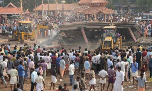 Погибло свыше 100 человек: стали известны причины смертельного пожара в храме в Индии