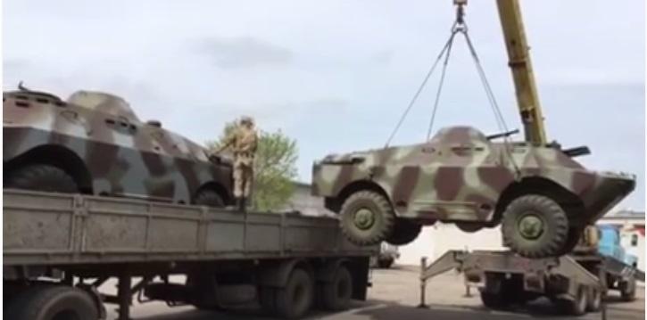 Николаевские волонтеры отремонтировали для Кировоградского мотострелкового батальона еще два БРДМ