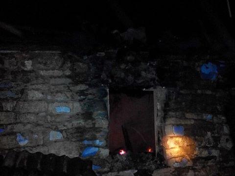 На пожаре в Березнеговатском районе 54-летний мужчина получил 10% ожогов тела