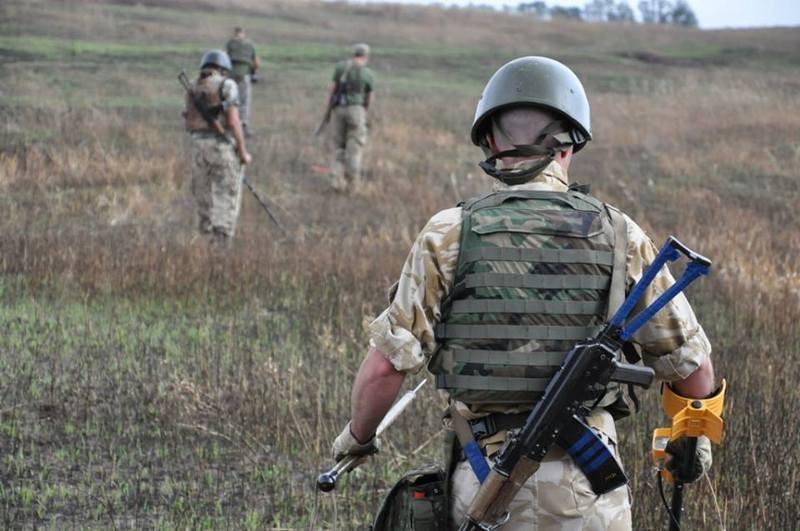 Украина получила от ОБСЕ новейшее оборудование для разминирования Донбасса