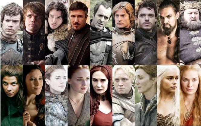 игра престолов картинки героев
