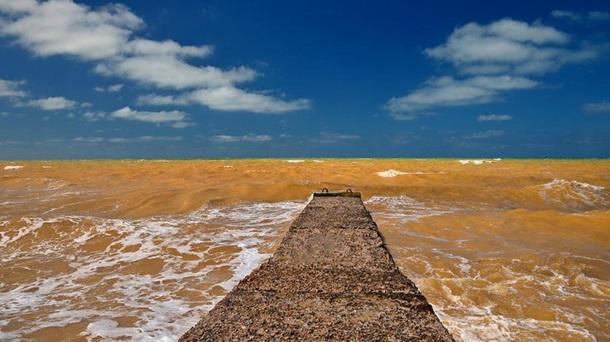 Так природа захотела. Крым стал сине-желтым – Черное море вдруг пожелтело