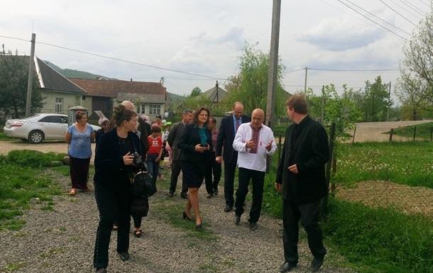 Геннадий Москаль договорился об открытии в Солотвино Консульства Румынии