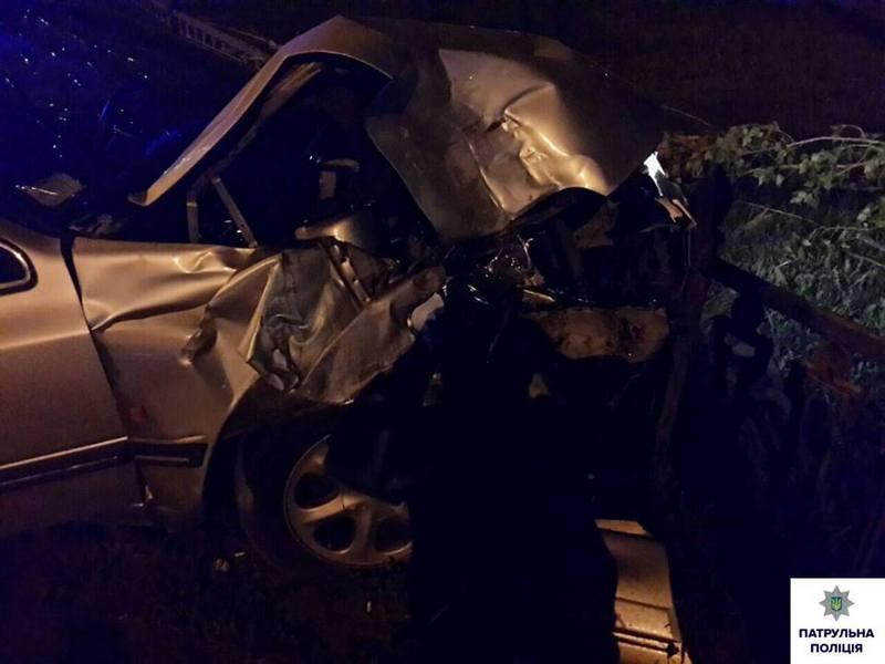 Нетрезвый водитель спровоцировал ДТП в центре Николаева