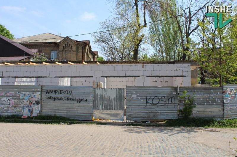 По незаконной стройке на углу Потёмкинской и 1-й Слободской создали рабочую группу