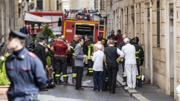 Взрыв в кафе в центре Рима. Погиб мужчина