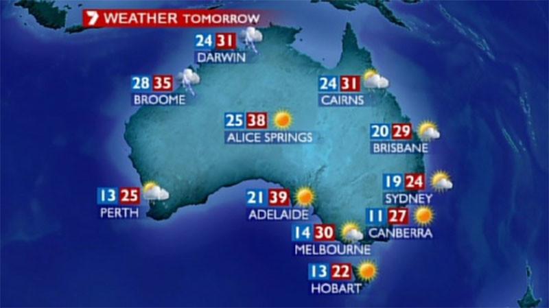 Угадав погоду, в Австралии можно выиграть миллион долларов