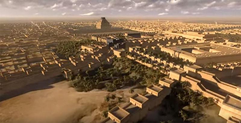 Путешествие сквозь века: видеореконструкции древних Рима, Вавилона, Карфагена и Александрии