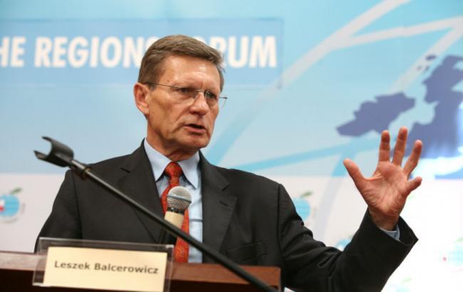 Бальцерович назвал имена поляков, которые войдут в группу стратегических советников в Украине