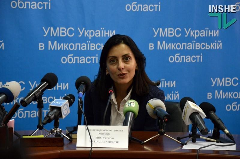 Деканоидзе дала начальникам облуправлений Нацполиции полтора месяца на улучшение криминогенной обстановки