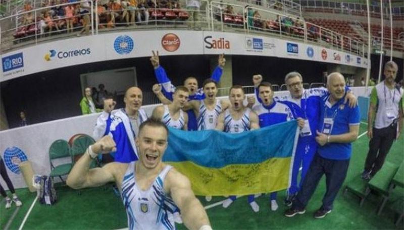 Украинские гимнасты завоевали командную олимпийскую лицензию
