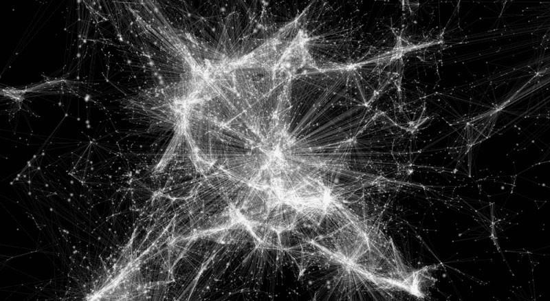 Визуализация Вселенной: сеть из 24 тысяч галактик