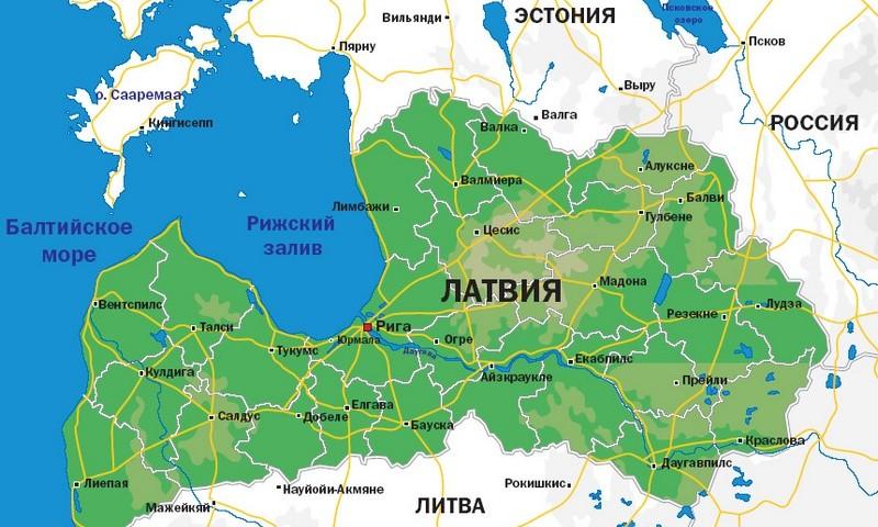 Латвия обновила правила въезда для украинцев 2