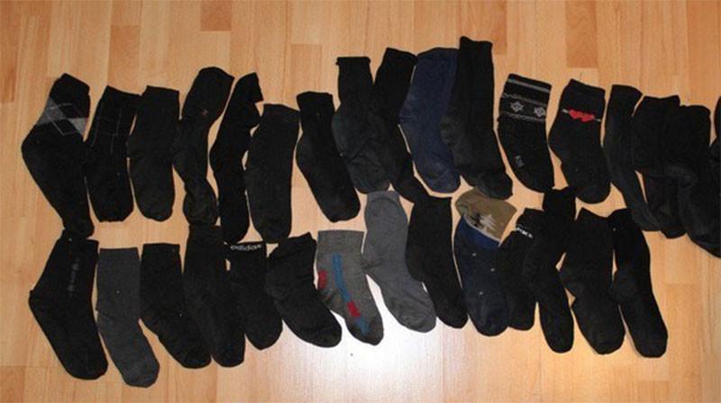 Ученые вывели математическую формулу пропажи второго носка